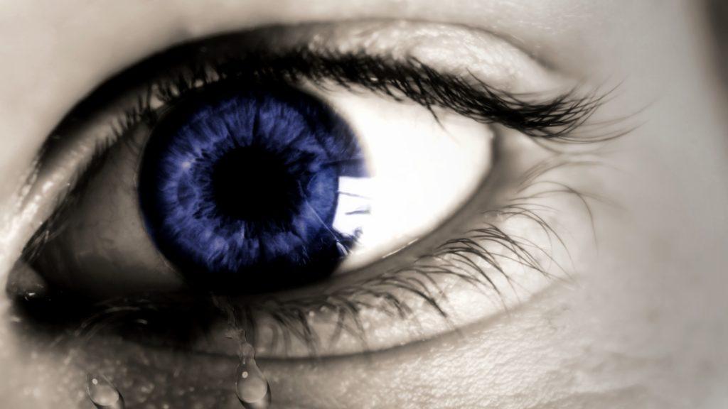 lagrimeo de ojos